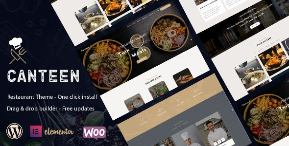 Canteen - Restaurant WordPress Theme