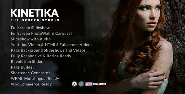 Kinetika - Photography Theme for WordPress