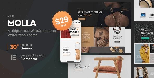 Molla - Multi-Purpose WooCommerce Theme