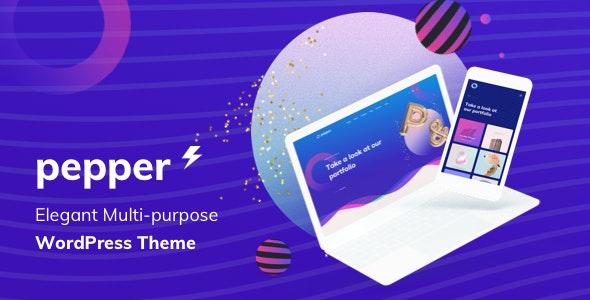 Pepper - Elegant Multi Purpose WordPress Theme