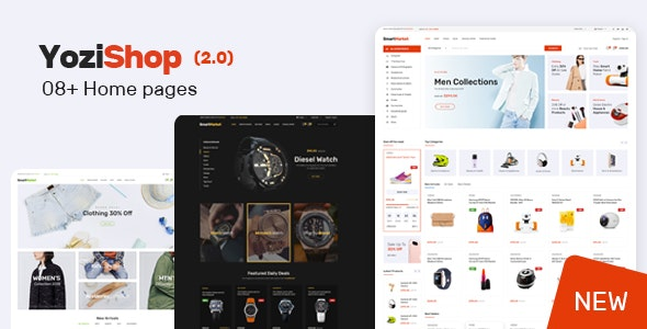 Yozi - Multipurpose Electronics WooCommerce Theme