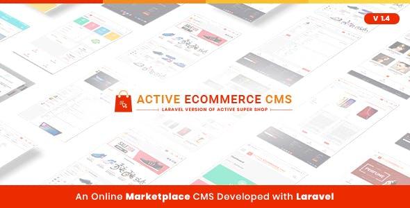 Active eCommerce CMS + Addons