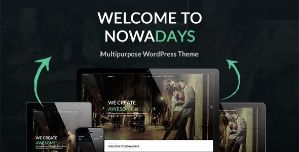 NowaDays - Multipurpose WordPress Theme