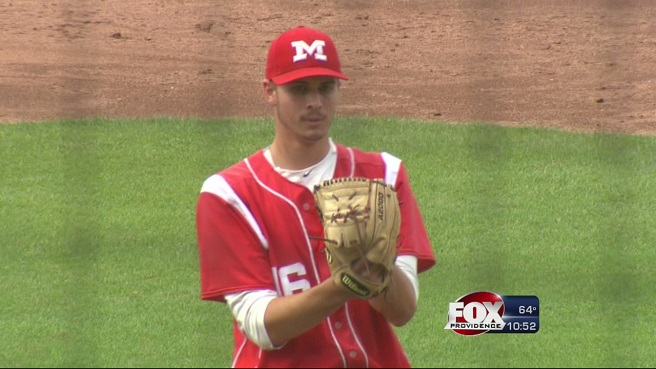 Mount St. Charles pitcher Alex Lataille_190744