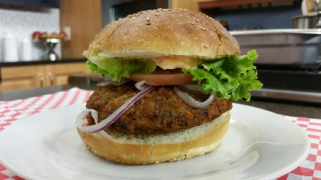 fried bean burger finished_218299