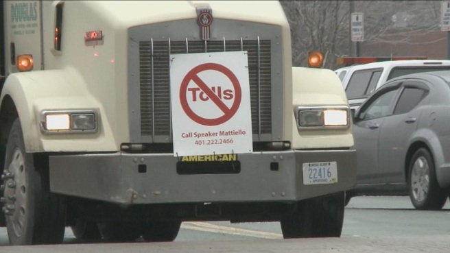 Truck toll protest_258580