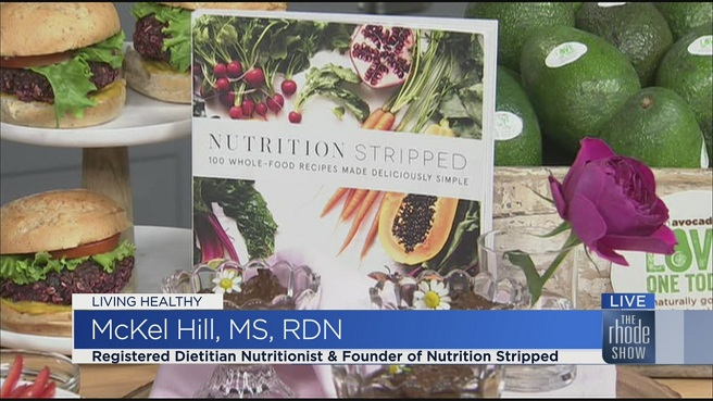 Nutritionist McKel Hill cookbook, _Nutrition Stripped_ 100 Whole-Food Recipes Made Deliciously Simple.__351115