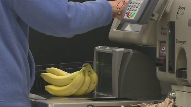Grocery store self checkout_341686