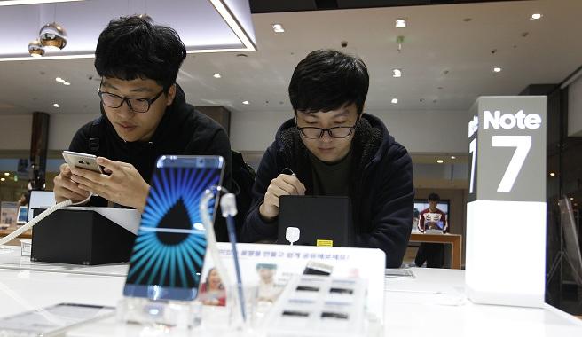 South Korea Samsung Battery Fires_368638