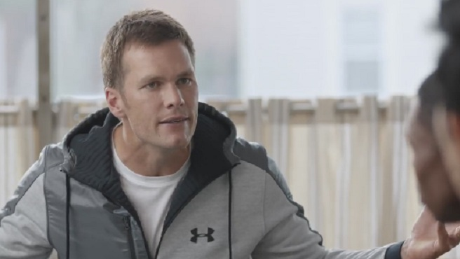 Tom Brady Deflategate Foot Locker commercial_384228