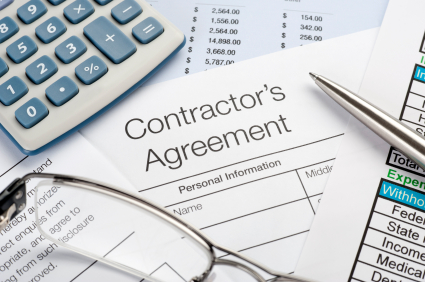 istock generic contractor's agreement contract_8424