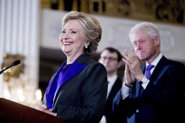 Hillary Clinton concedes_397634