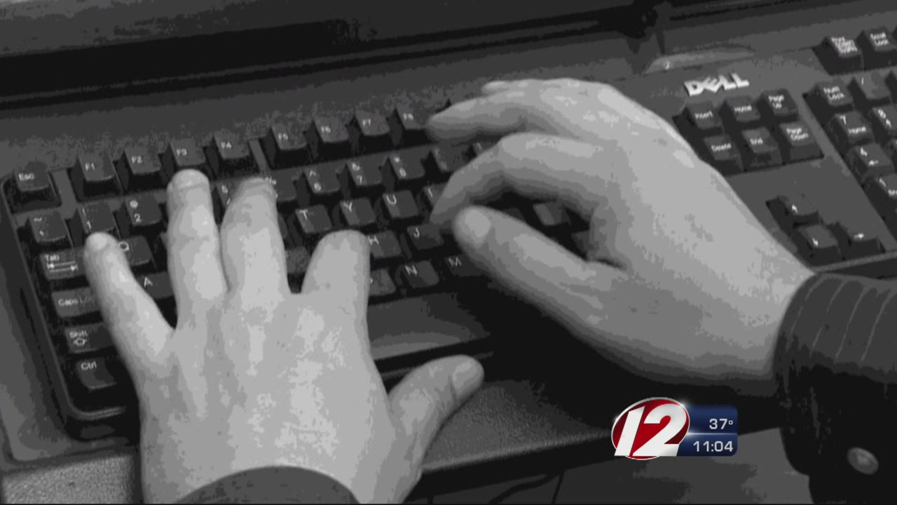 Hands typing on keyboard_166976