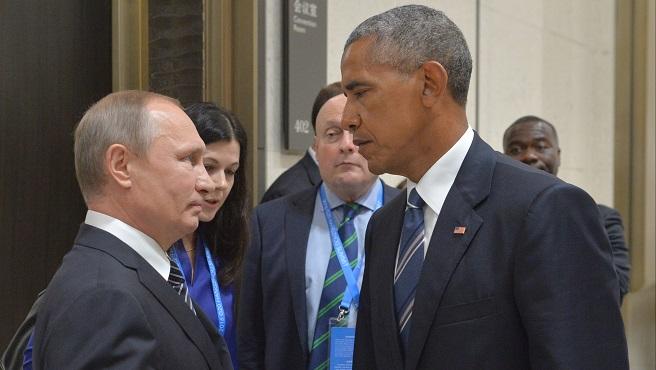 Vladimir Putin, Barack Obama_400645