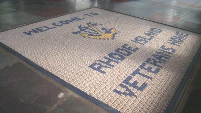 Rhode Island Veterans Home welcome mat_378745