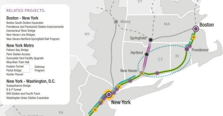 Feds drop controversial South County track from rail upgrade plan