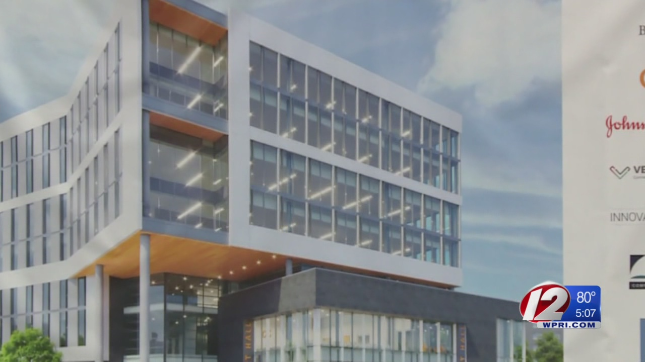 RI leaders hail groundbreaking for Wexford innovation campus on 195 land