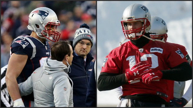 Rob Gronkowski concussion, Tom Brady hand injury_629992