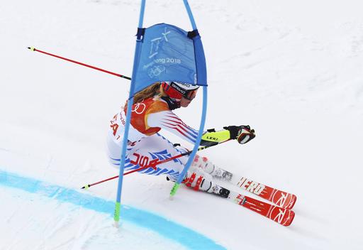 Pyeongchang Olympics Alpine Skiing_650416