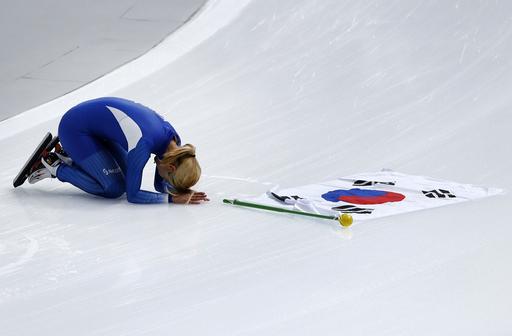Pyeongchang Olympics Speed Skating Women_650563