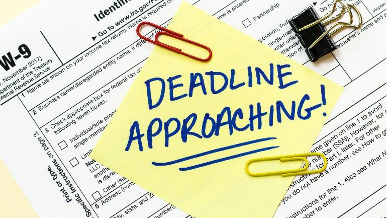 Tax Day Approaching Generic