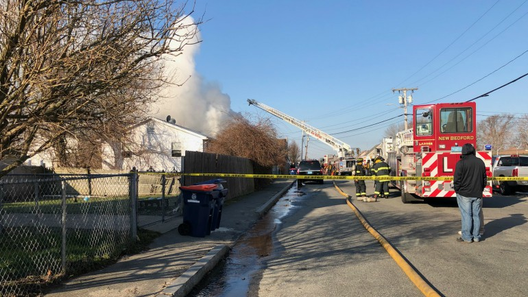 new bedford potter street fire
