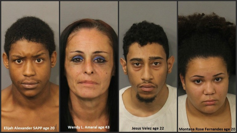 Heroin, crack seized as detectives arrest 4 in Fall River