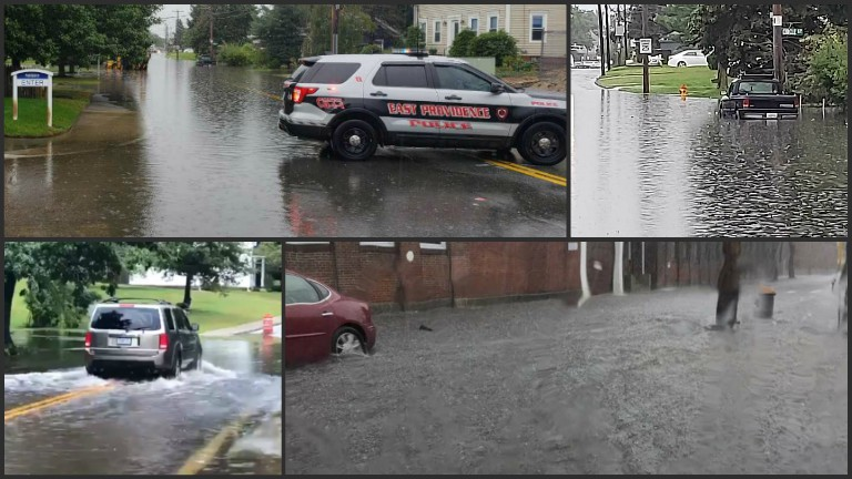 Florence brings heavy rain, flooding to RI, Mass.