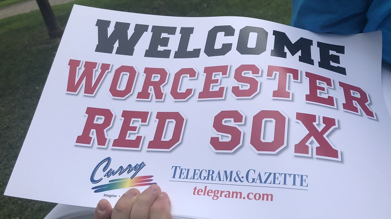 Worcester Red Sox welcome celebration