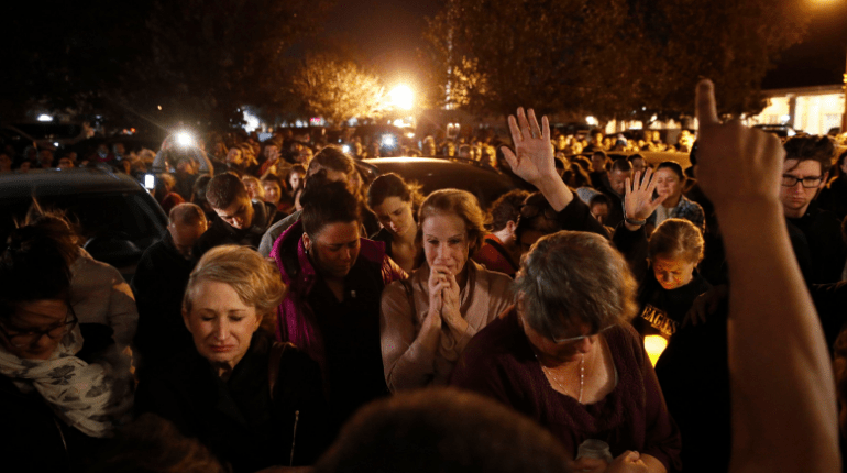 southern california mourners