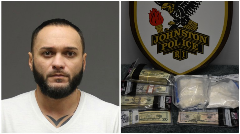 Up to $45K in cocaine seized in Johnston drug bust