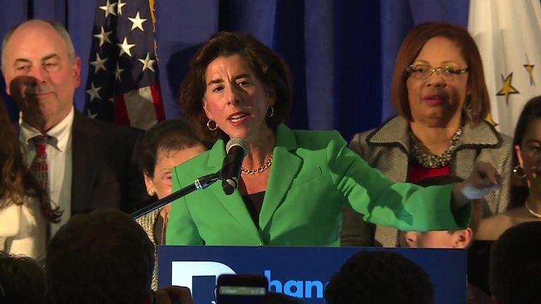 Gov. Gina Raimondo victory speech