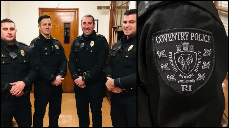 Coventry officers now sporting new sleek, black uniforms