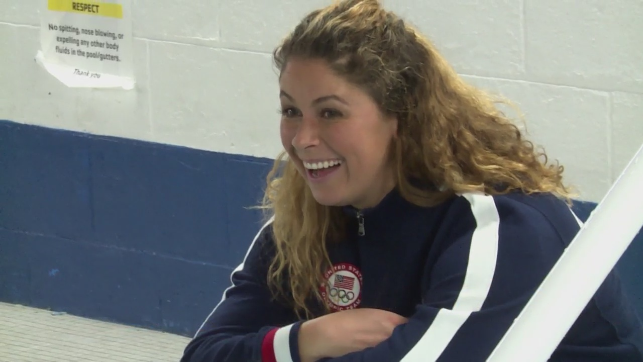 Elizabeth Beisel gives back to Greater Providence YMCA