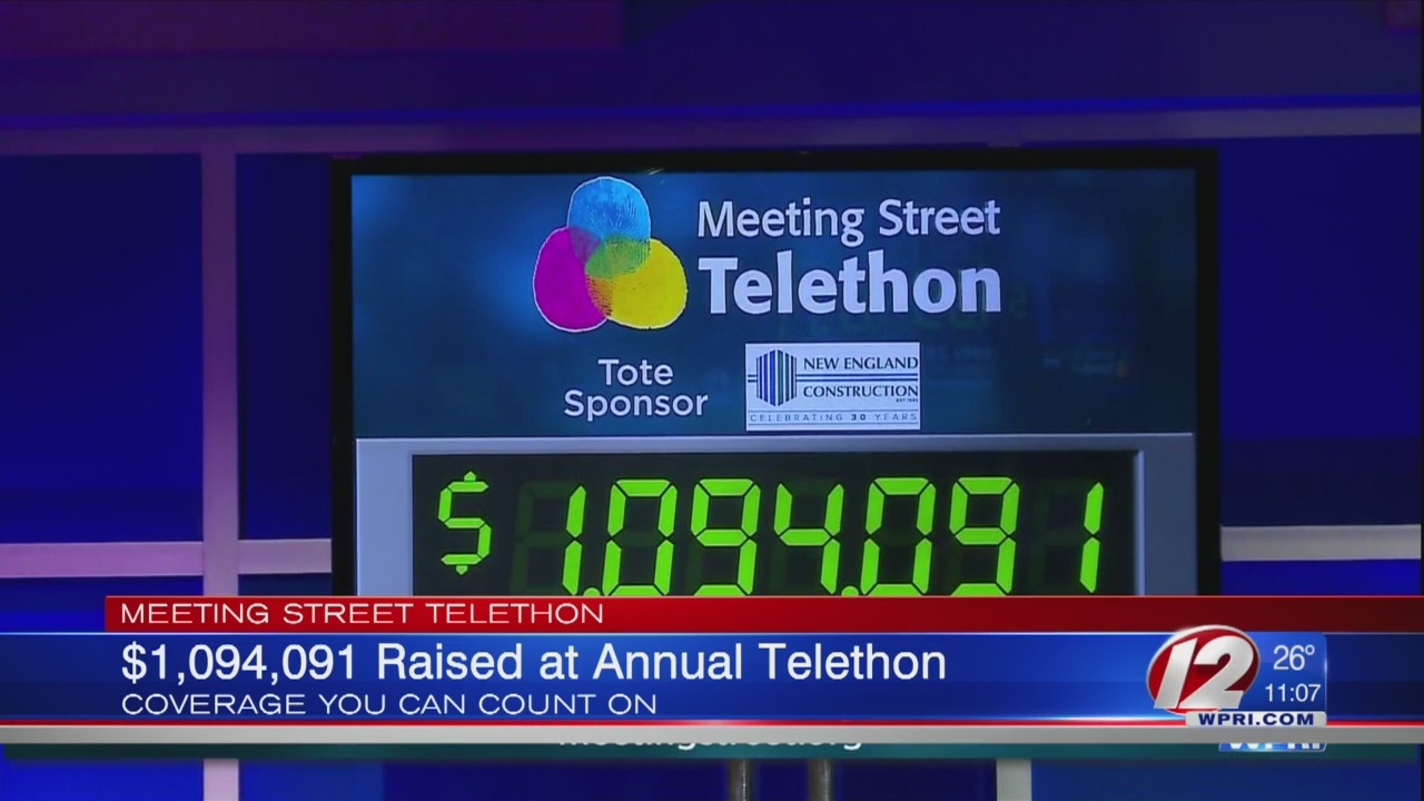 A big night at the annual Meeting Street Telethon