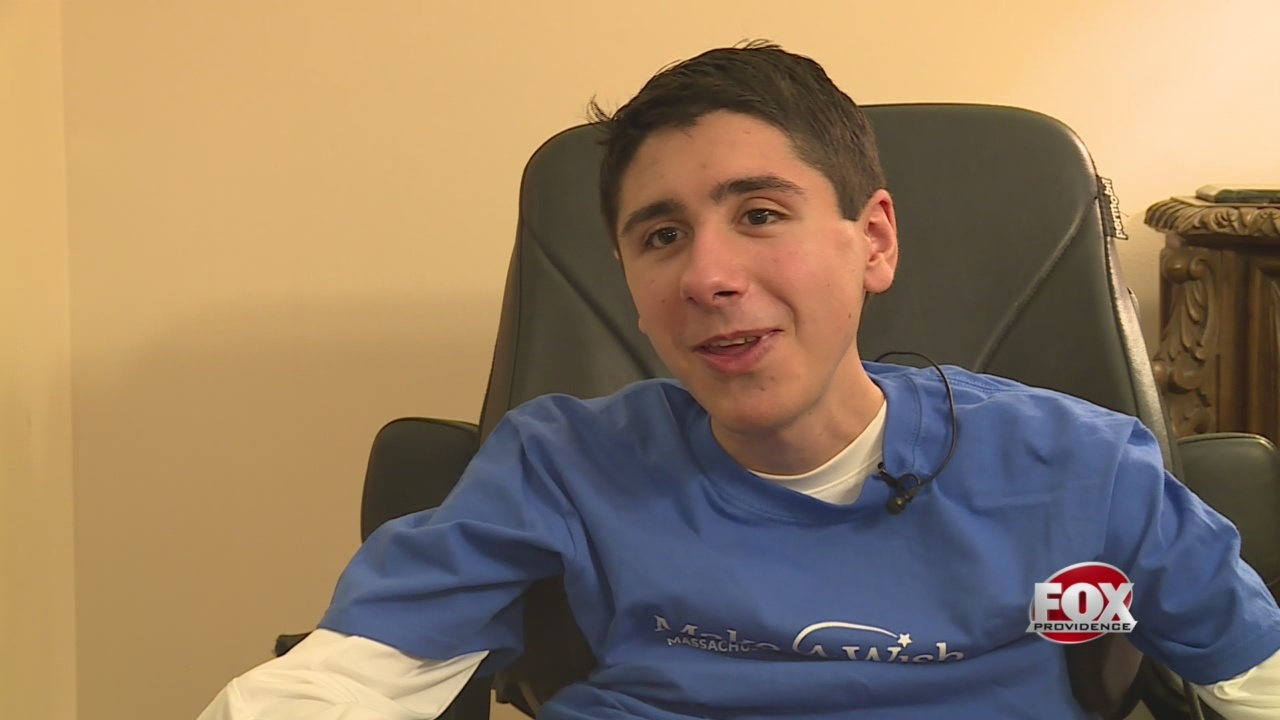 Make-A-Wish sending South Kingstown teen to the Super Bowl