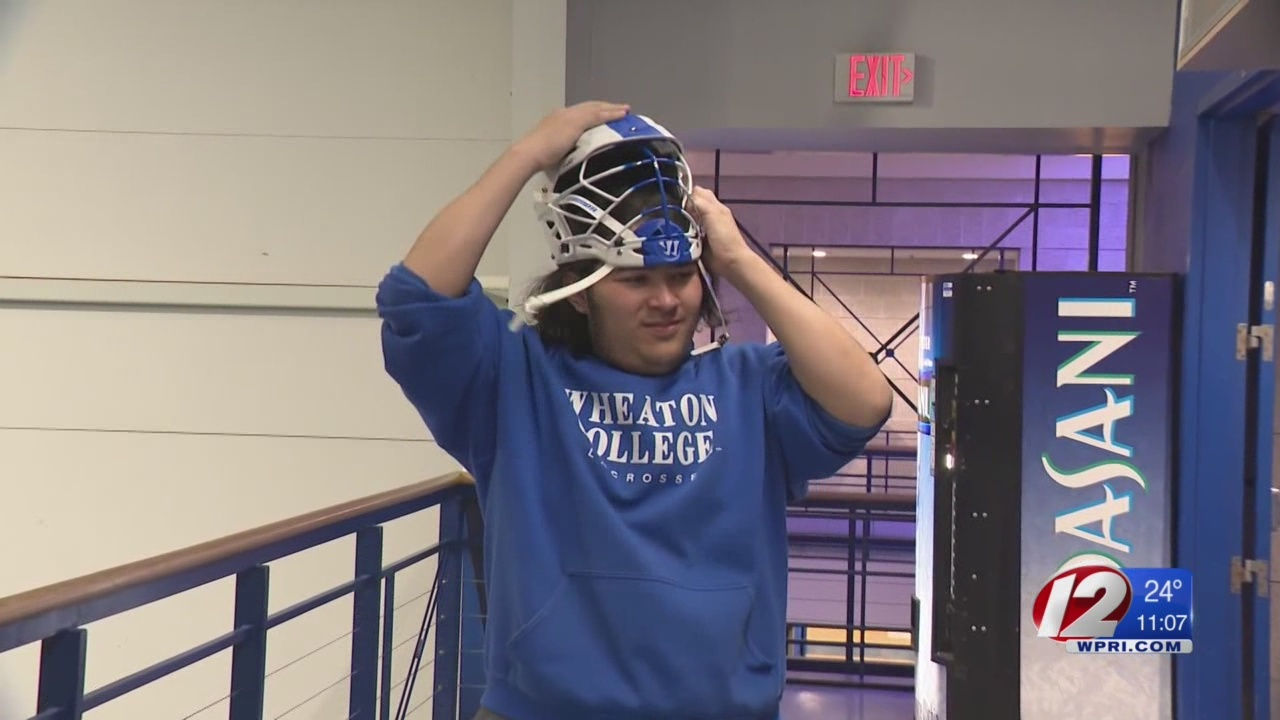 Wheaton lacrosse player sidelined due to small helmet hopes to get back in the game