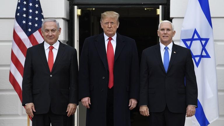 Trump Netanyahu Pence