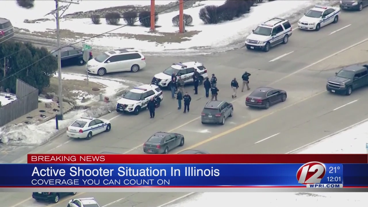 Police Officer Shot in Northern Illinois