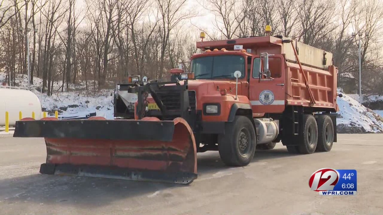 RIDOT: State snow removal supply in good shape