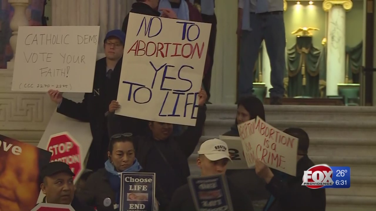 RI House panel OKs abortion-rights bill