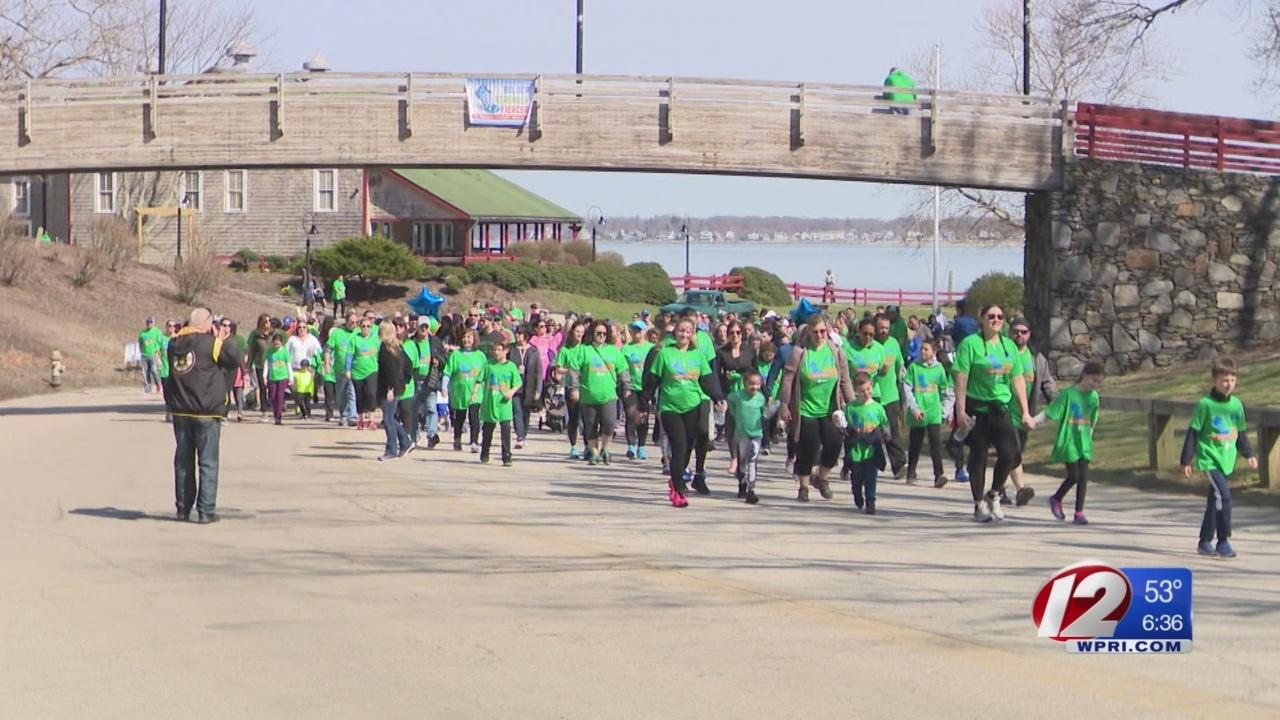 2nd Annual Brain Tumor Walk held in Warwick Sunday
