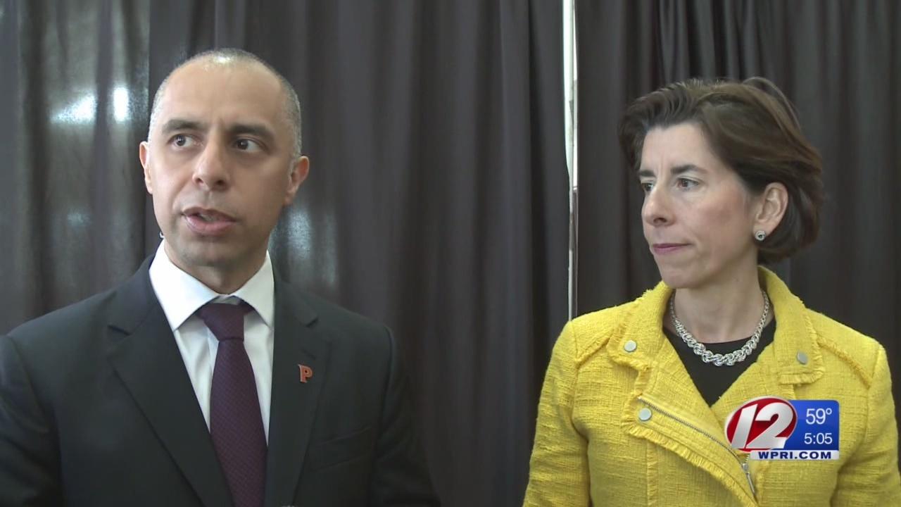 Raimondo, Elorza announce plan to improve Providence schools