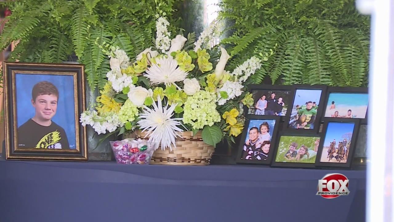 Funeral held for Ryan Hazel