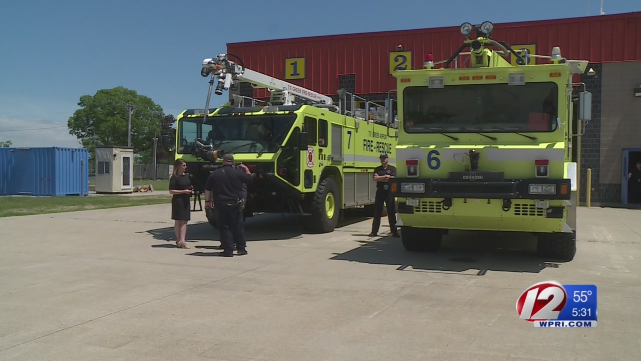 TF Green fire truck taken out of service after FAA flags violation