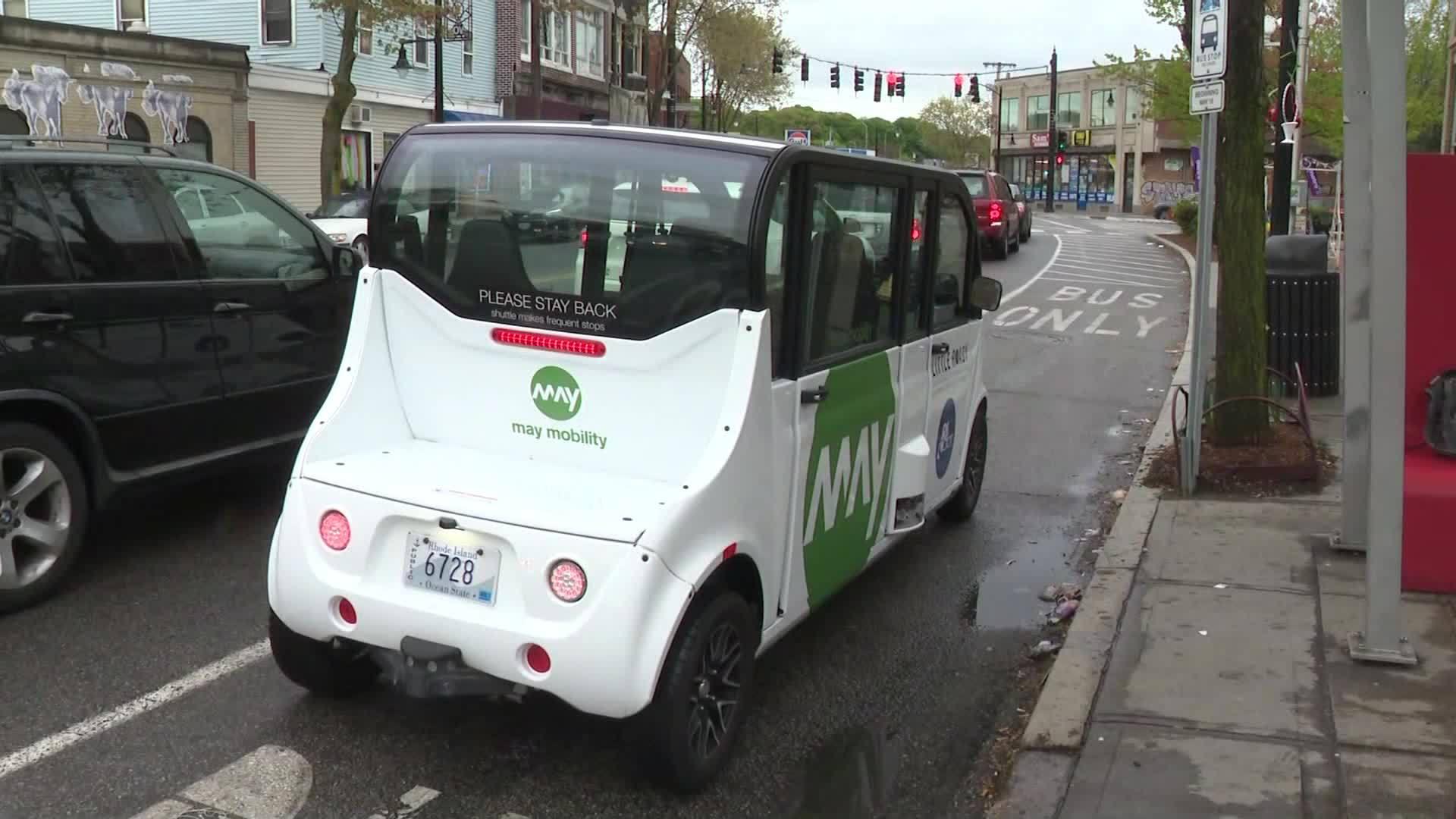 """Video Now: """"Little Roady"""" Shuttles Begin Service"""