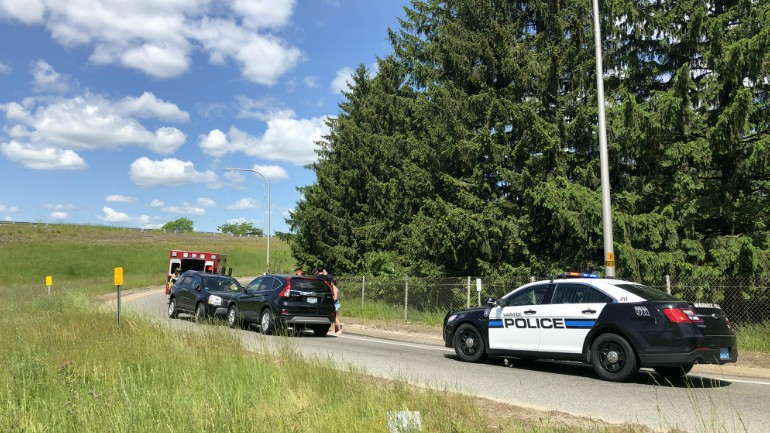 Woman in critical condition following wrong-way crash