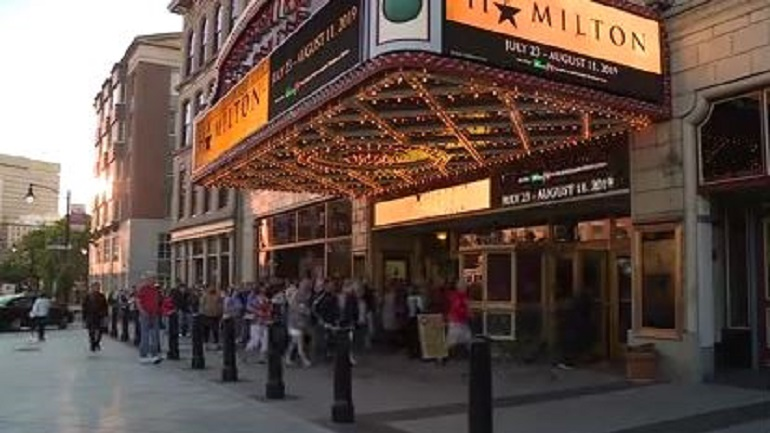 Hamilton tickets for sale at 8 a.m.