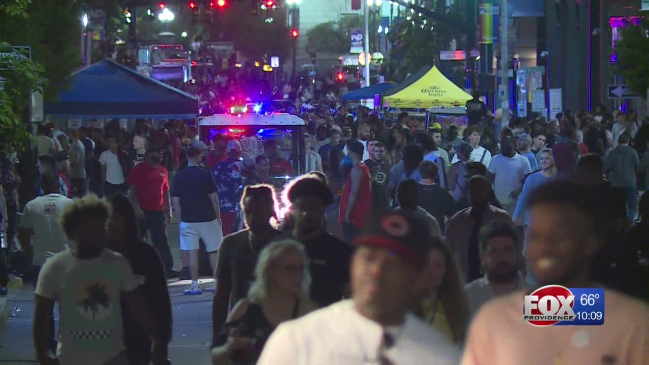 Police searching for suspect after five shots fired at PVDFest