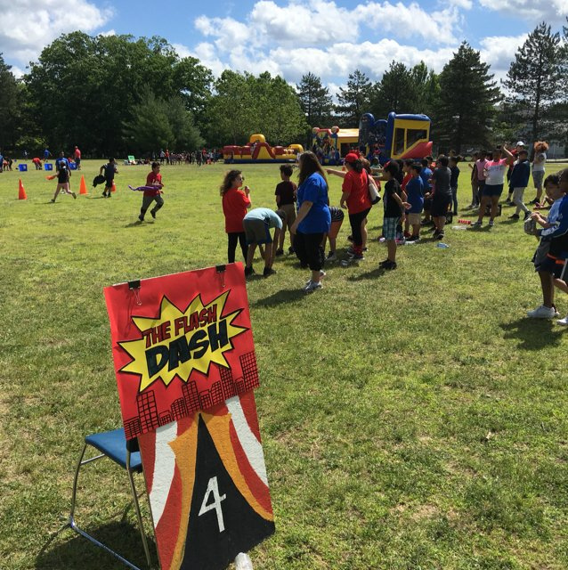 Field Day Activities at Veazie St.
